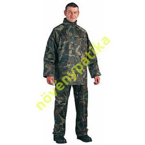 Orkán esőruha terepszínű Kabát - nadrág